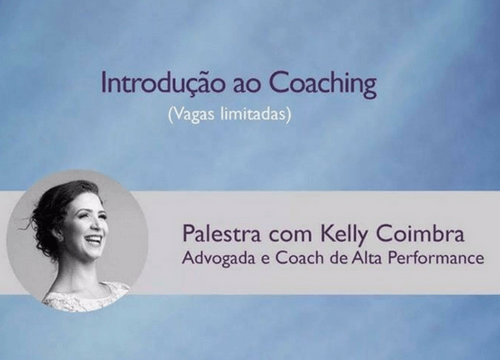 introdução ao coaching - Kelly Coimbra